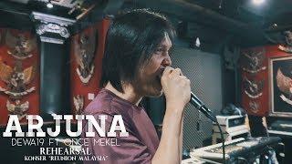 "Gambar cover Dewa19 Feat Once & Tyo Nugros - Arjuna | Rehearsal Konser ""Reunion Malaysia"""