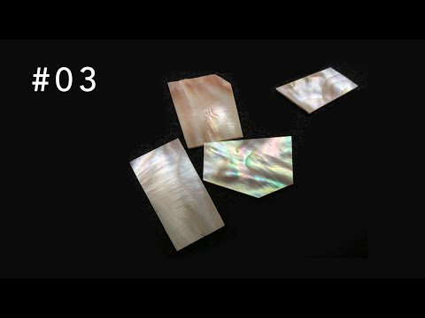 Luther Shorts #3: Making Shell Inlay Blanks