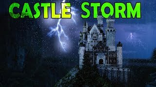🎧 EPIC Castle Thunderstorm with Hours of Rain | Ambient Noise Storm for good sleep, @Ultizzz day#76