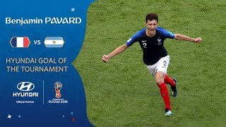 Benjamin PAVARD - HYUNDAI GOAL OF THE TOURNAMENT **WINNER**