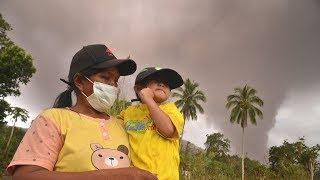 Soputan volcano erupts in Indonesia