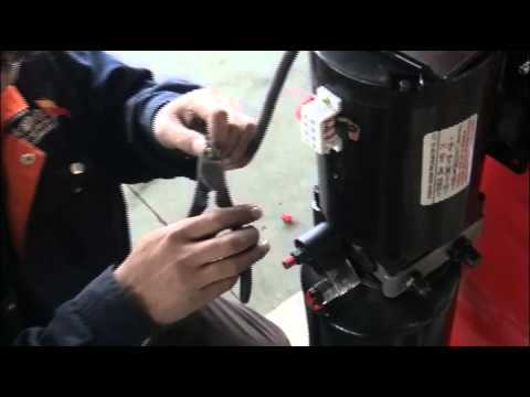 electric control wiring - YouTube