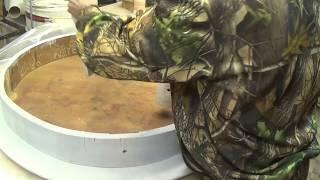 Restoration of the table. Реставрация стола.Как вернуть стол 1906г в современный интерьер.Покраска.(, 2018-01-27T11:29:35.000Z)