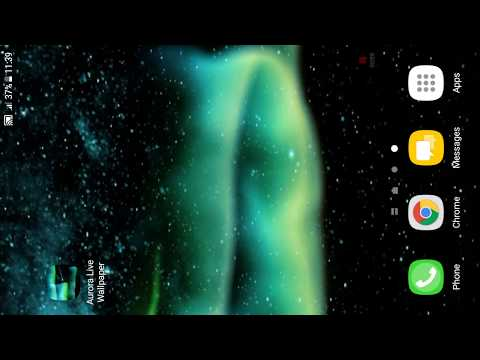 D Live Wallpaper Aurora Animated Wallpapers Features Amazing Video Animated Wallpaper To Personalize Your Phone The Live Wallpaper Personalisation App