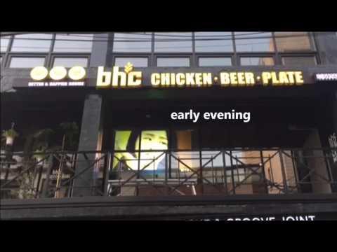 bhc , Itaewon, Seoul / bhc chicken / advertisement