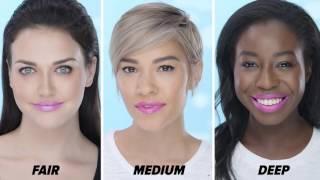 Unicorn Tears Lipstick on Different Skin Tones | Beauty Junkie