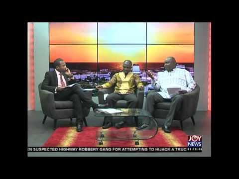 Power barge - AM Talk on Joy News (30-11-15)