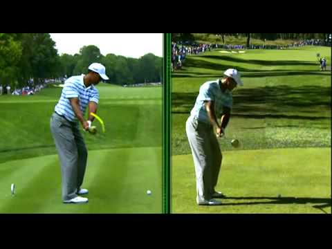 Tiger Woods Swing Sequence