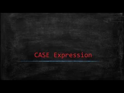SAP HANA SQL CASE Expression
