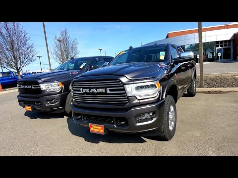 2019 Ram Cummins. Review in person Ram 2500 and 3500.