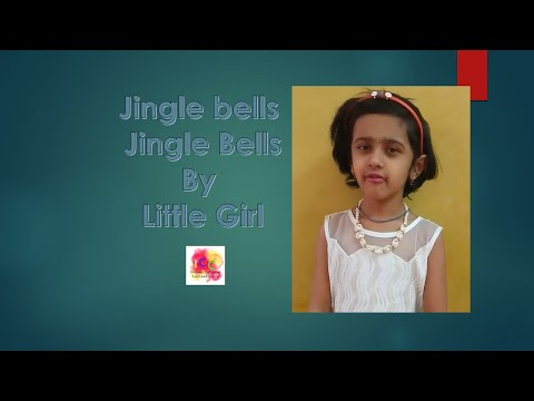 jingle bells jingle bells by cute girl
