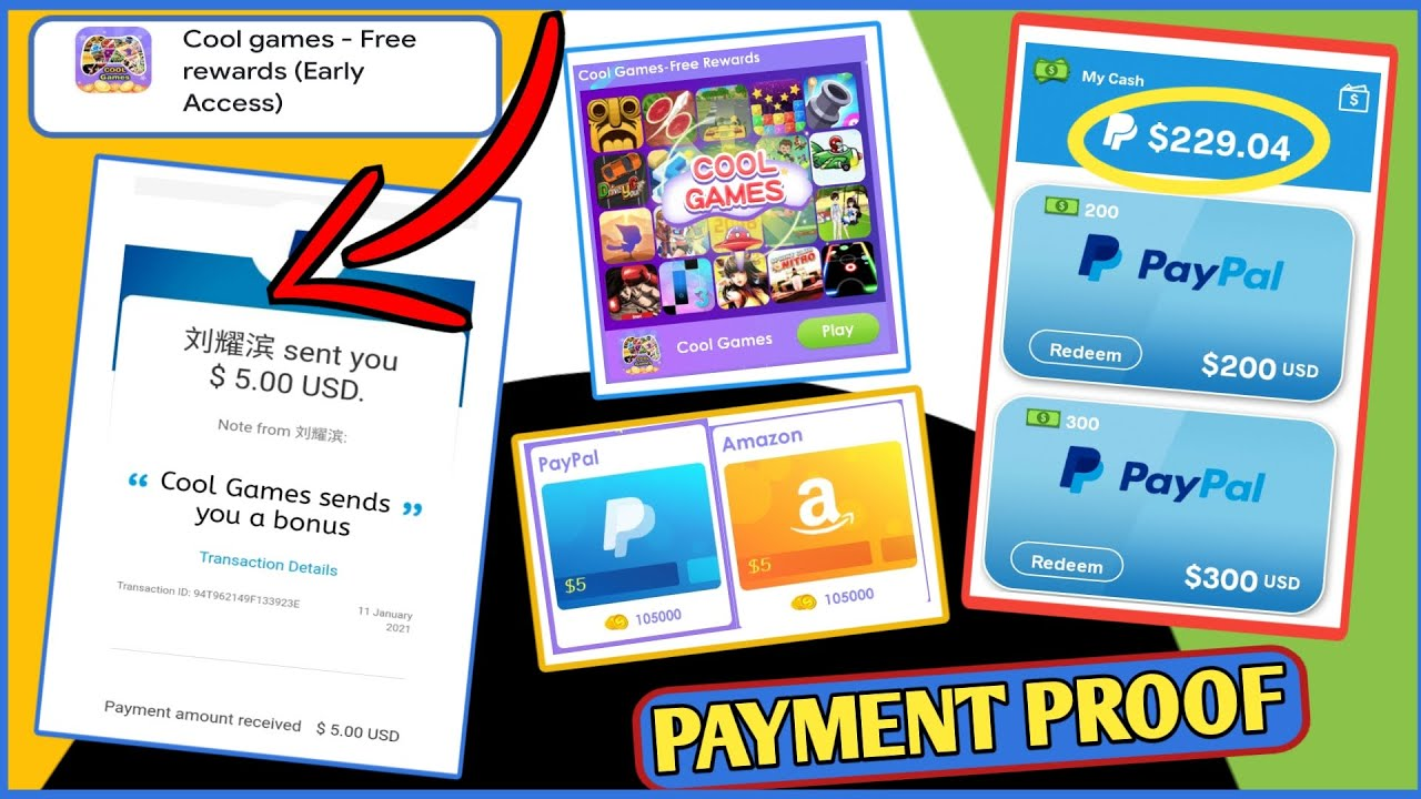 Paypal Cash Earning Games