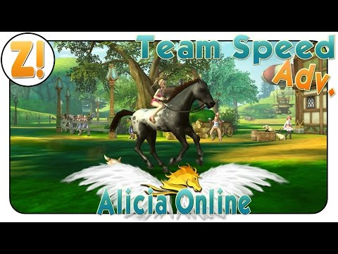 Alicia Online: Dorf Harbor Adv. | TEAM SPEED | Let's Play ♥