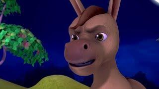 The Singing Donkey Neethi Kathalu | Telugu Stories for Kids | Infobells