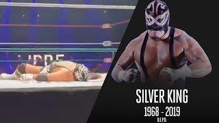 Luchador Mexicano Silver King  FALLECE en pleno combate
