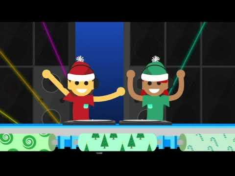 Google Santa Tracker - Wrap Battle Level 2 Music