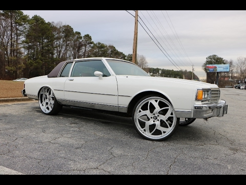 WhipAddict: Georgia A1 Kustomz Shop Visit: Box Caprice LS Swap, Trans, Rear End, Amani Forged 26s