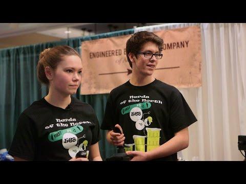 Anchorage's Nerds of the North teen robotics club
