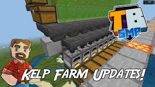 Kelp Farm Updates!- Truly Bedrock SMP Season 2! - Episode 44