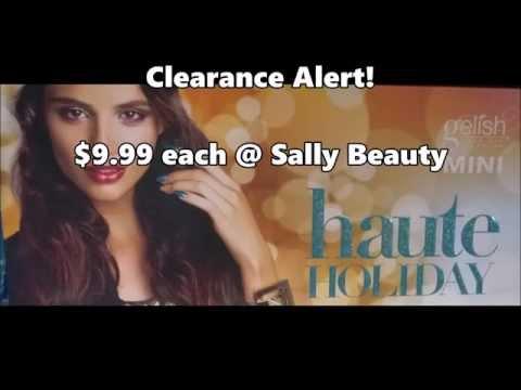 Clearance Alert! gelish Haute Holiday ($9.99 each @SallyBeauty)