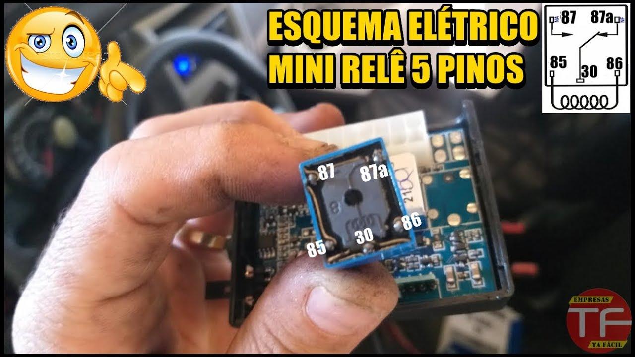 Como usar Mini relê eletrônico 12 volts em instalações automotivas. #1