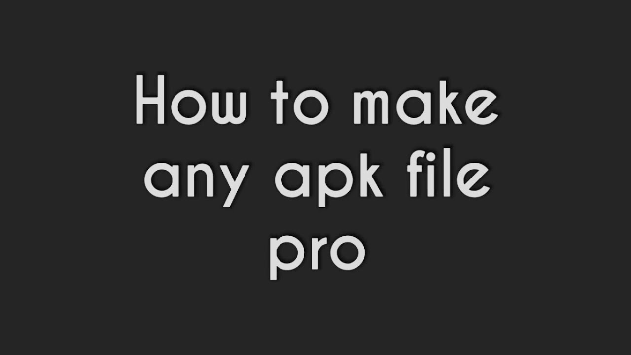 How to Make any apk file pro or premium with lucky patcher with proof