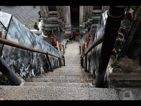 Scalata al .. Pardon! Salita al magnifico Wat Arun di Bangkok #2