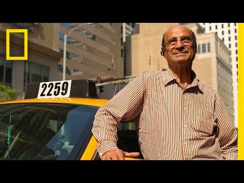 This Taxi Driver Has an Amazing Life Story You