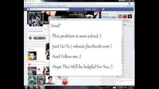Facebook No Option To Send Friend Request (Solved)...!!! (Asad Noor)