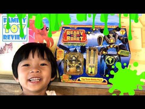 Toys For Boys To Color : Ready 2 robot gross slime color experiment! ready 2 robot toy