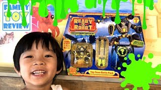 Ready 2 Robot GROSS Slime Color Experiment! Ready 2 Robot Toy Unboxing - Surprise toys for boys