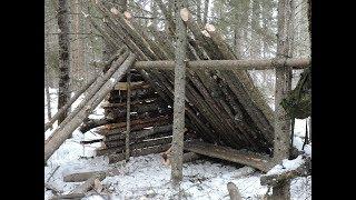 Building a Bushcraft Basecamp - Episode 2