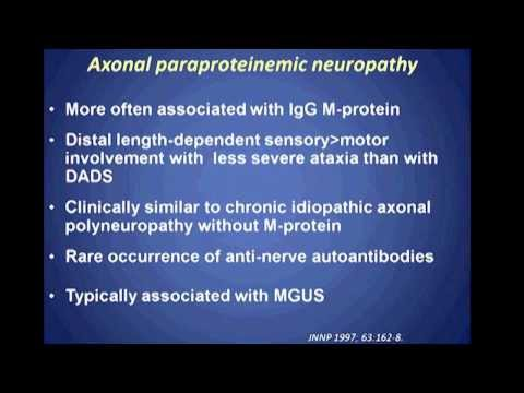 Global Grand Rounds: Paraproteinemic Neuropathy presented by Saša Živković, M.D. Ph.D.