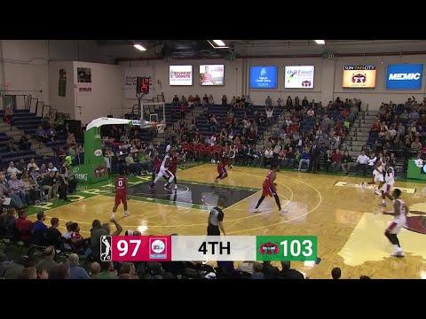 Andrew White (37 points) Game Highlights vs. Delaware 87ers