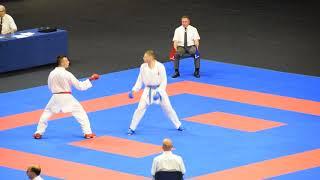 Gabor Harspartaki vs Sujic Jusuf, First Round, European Championship 2018