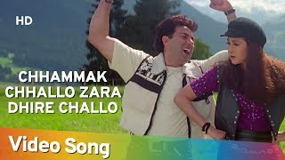 Chhammak Chhallo Zara Dhire Challo - Ajay Songs - Kumar Sanu - Fun Song