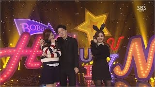 hi suhyun 나는 달라 im different featbobby 1130 sbs inkigayo