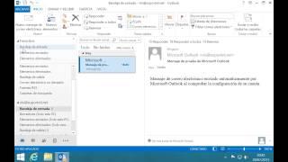 Outlook 2013 -  Programar envío de correos