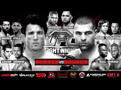 UFC Fight Night 26: Shogun vs Sonnen Predictions- Kamikaze Overdrive MMA