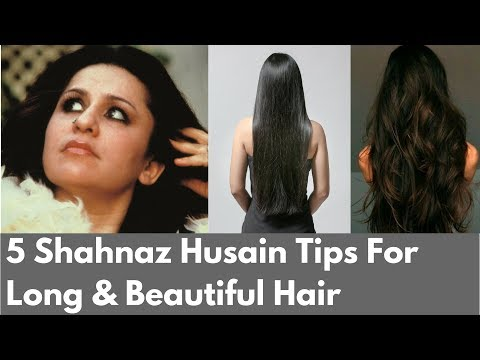 5 Amazing Shahnaz Husain Tips For Long  Beautiful Hair