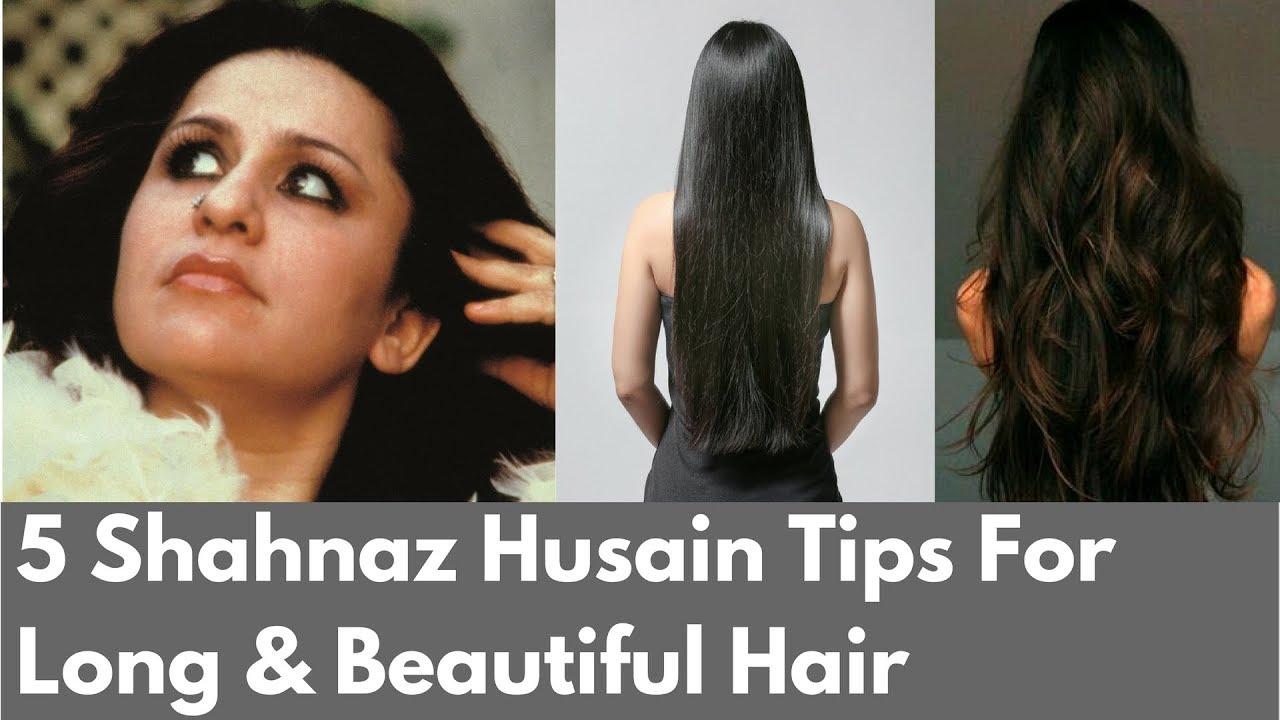 8 Amazing Shahnaz Husain Tips For Long Beautiful Hair
