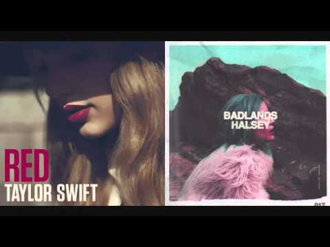 Taylor swift - halsey mashup (red/colors)