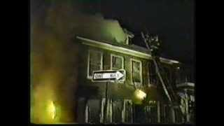 "Broad Channel FD in 1993 on TV Show ""FireFighters"" Part 1"