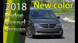 WOW!! Dodge Grand Caravan 2018. New color introduction [EXTERIOR] || AA TOP AUTO