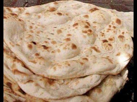الخبز العراقي بطريقة مخابز الافران Youtube