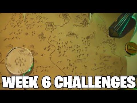 Fortnite Week 6 Challenges.Full Guide - SEASON 8 WEEK 6 CHALLENGES