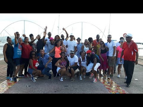 Making of Flashmob Day Rueda Fort de France Martinique