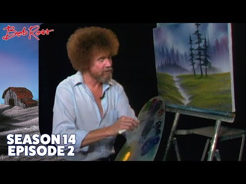 Bob Ross - Meadow Brook Surprise (Season 14 Episode 2)