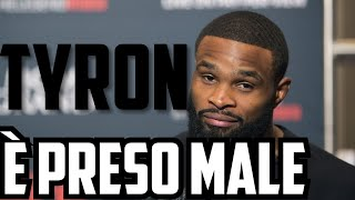 TYRON WOODLEY È PRESO MALE