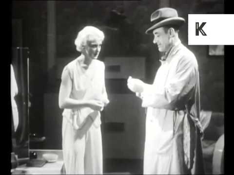 1930s Cigarettes Advertisement, UK Cinema, Rare Archive Footage, Bizarre